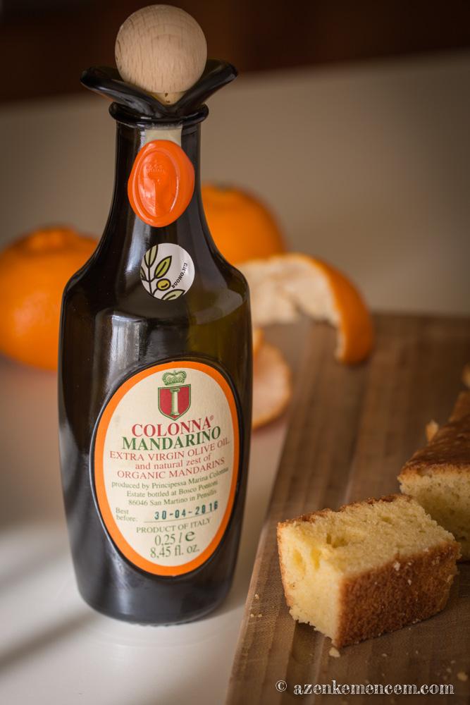 Mandarinos ízesítésű olivaolaj