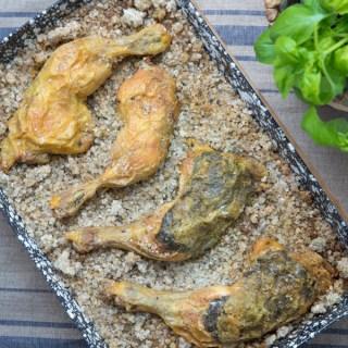 Aranyszalag sorozat – Sóban sült csirkecombok salátával