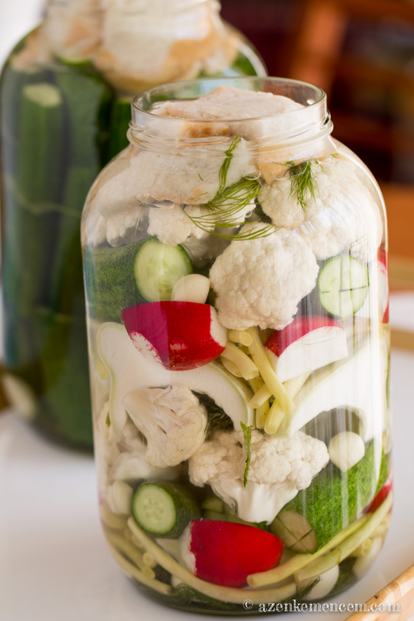 Kovászolt zöldségek