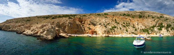 Horvátország - tenger felől megközelíthető stand