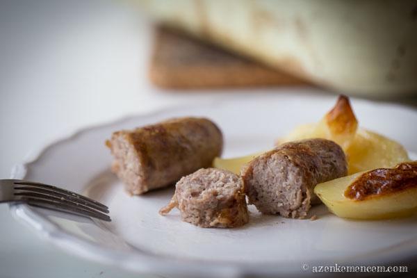Toulouse-i kolbász - paprika nélkül is finom a kolbász