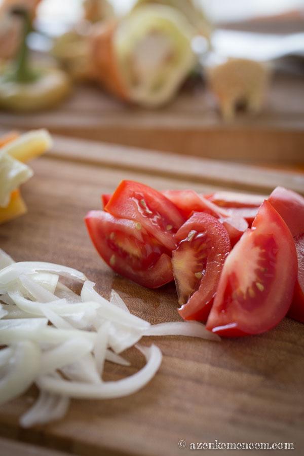Tojásos lecso - Friss paprikából, paradicsomból az igazi