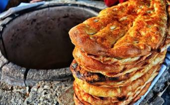 Tandir Bread - Traditional Azeri Bread 5