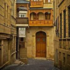 Balcoane de lemn din vechiul Baku, Azerbaidjan 4
