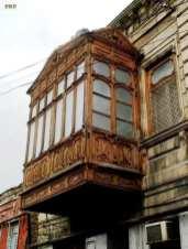 Balcoane de lemn din vechiul Baku, Azerbaidjan 45