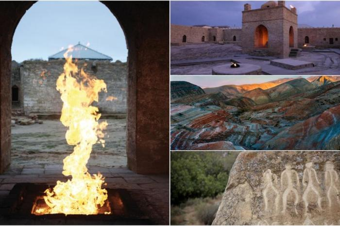 Baku Half Day Tour: Qobustan Petroglyphs and mud volcano + Ateshgah Fire Temple