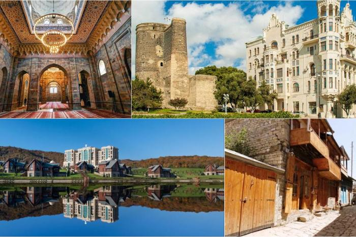 Путевка в Азербайджан: Баку-Шемаха-Лагич-Губа-Баку