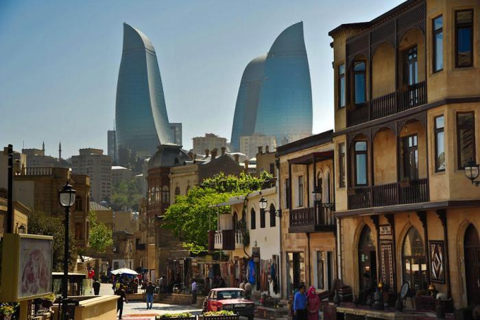 Trip to Azerbaijan-Mystery Baku