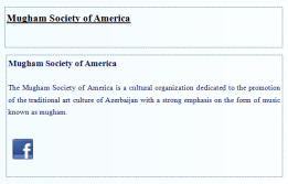 Mugham Society of America
