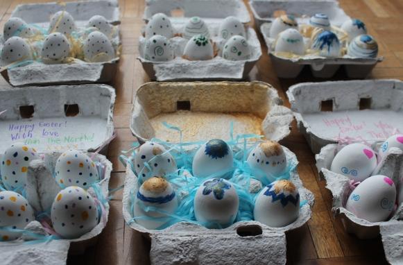Easter Crafts - Inside