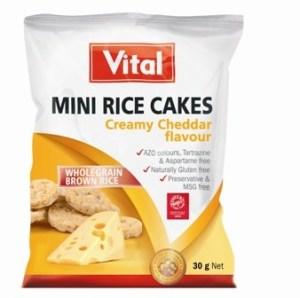 Mini Rice Cakes Creamy Cheddar