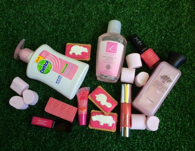 Pink products & treats