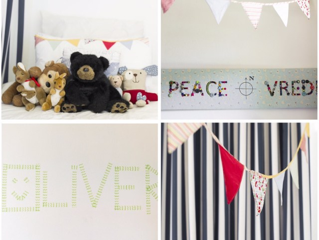 olivers room collage