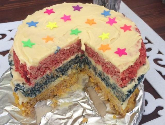 rice-crispies-rainbow-cake-1
