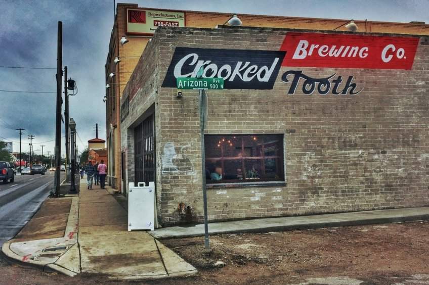 crooked tooth brewing