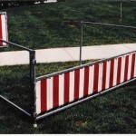8' Carnival Booth Front