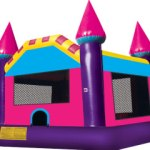 Pink/Purple Castle Bouncer ($120)