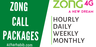 Zong Call Packages 2020