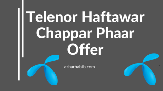 telenor chappar phaar offer