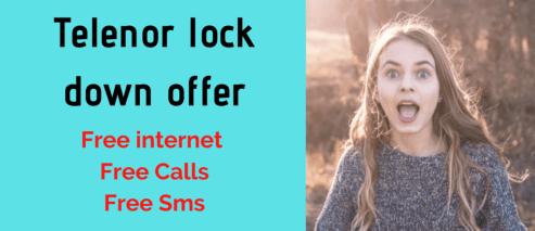telenor lockdown offer
