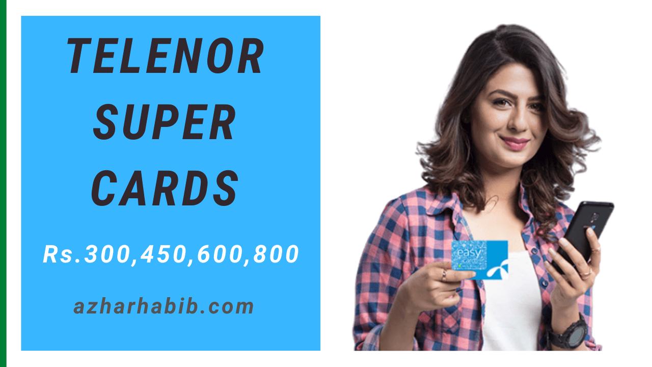 Telenor super cards 2021