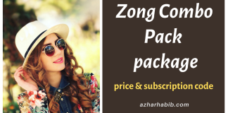 Zong Combo Pack detail