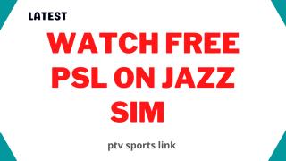 Watch free PSL on jazz sim without balance 2021