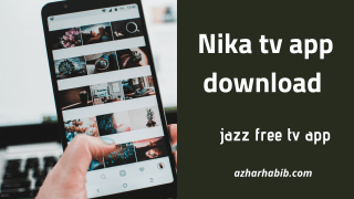 nika tv app download-jazz free tv channels links