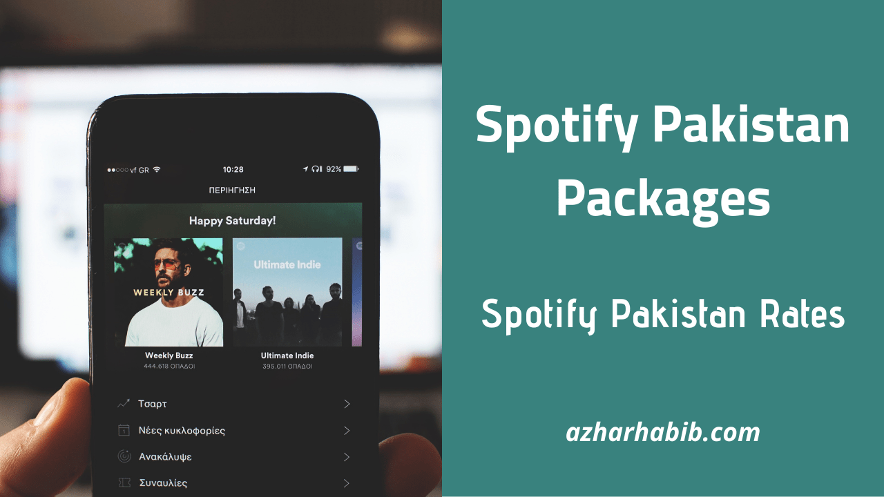 Spotify Pakistan Packages