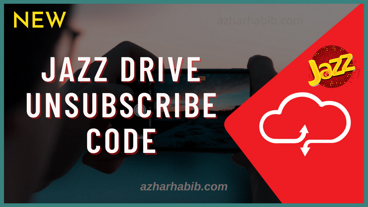 jazz drive unsubscribe code