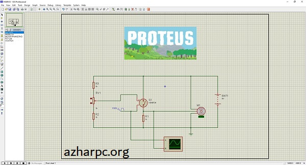 Proteus 8.12 SP1 Crack + Professional Full Version Latest Download