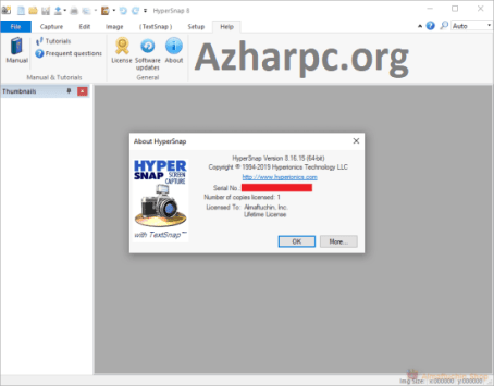 HyperSnap 8.16.17 Crack With License Key Free Download