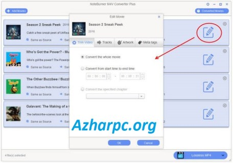 NoteBurner Video Converter 5.5.8 Crack & License Key [2021]