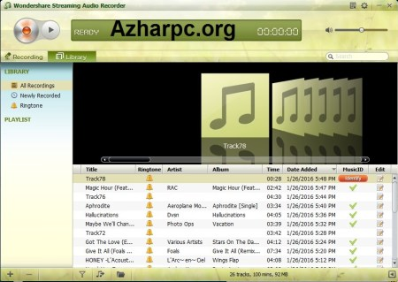 Wondershare Streaming Audio Recorder 2.4.1.5 With Crack [Latest]