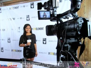 Reporting for FilAm TV