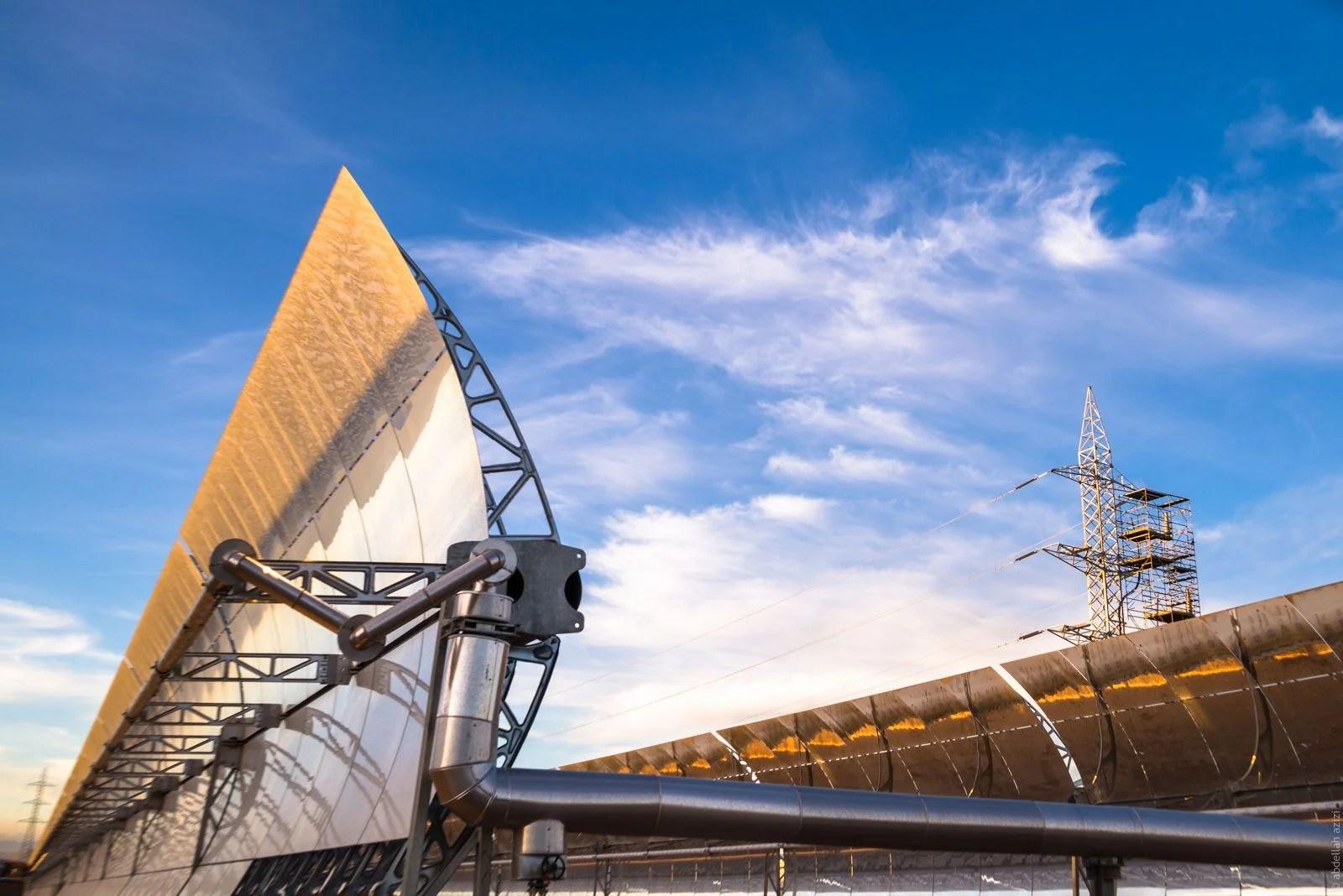 Ouarzazate Solar Power Station Noor 1