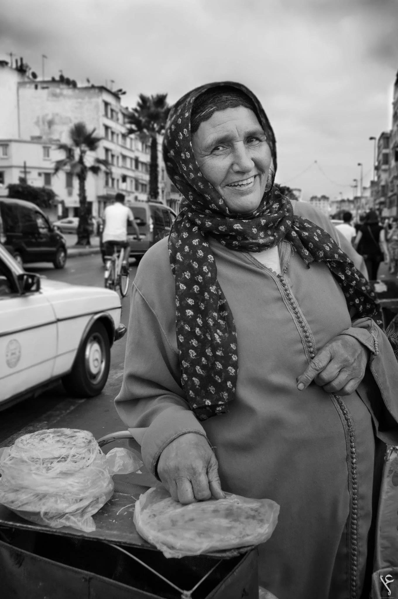 Mesamen vendor, Casablanca