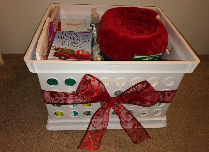 Mommy and Baby Gift Basket (Holiday Theme)