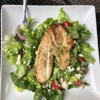 Tilapia Greek Salad