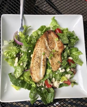 Tilapia Greek Salad 2