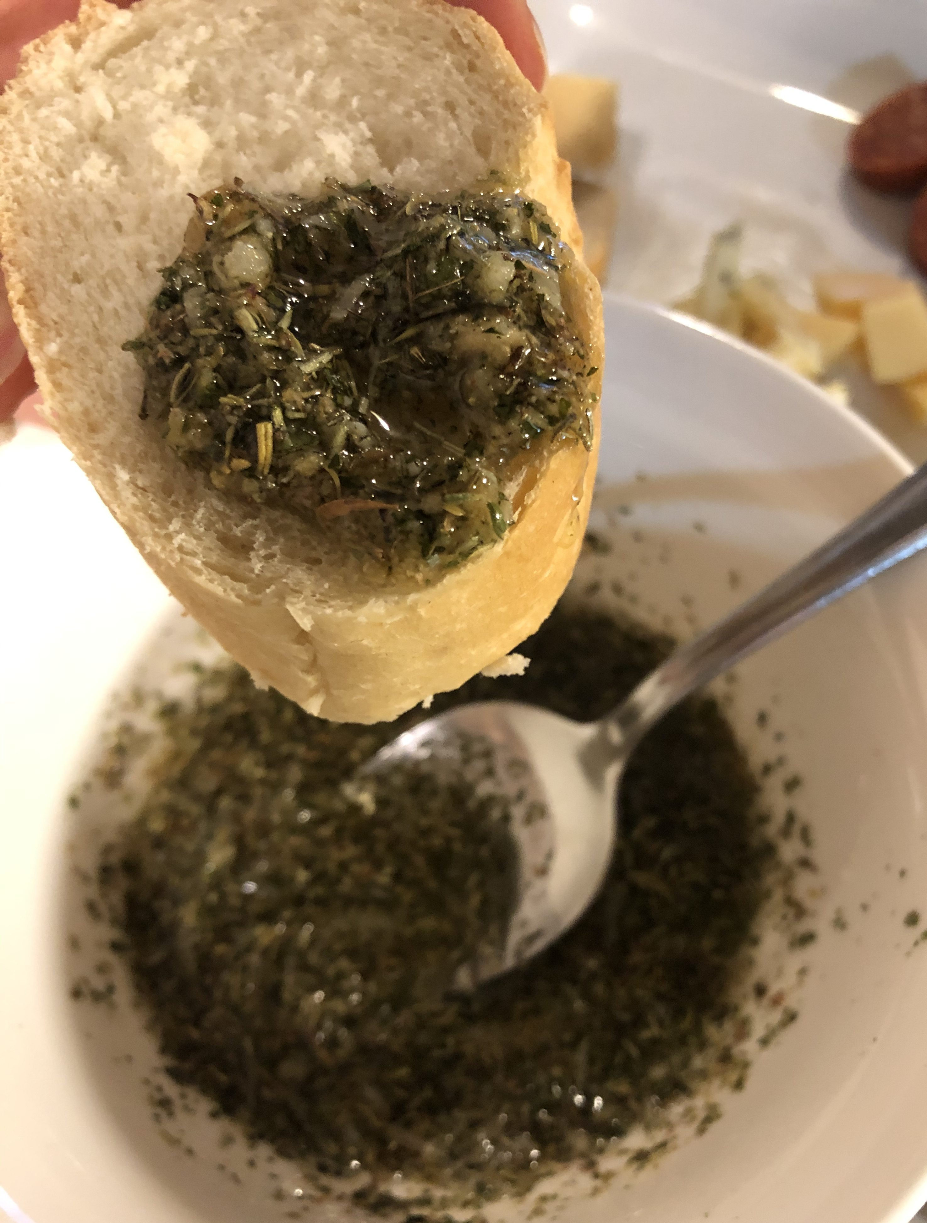 How to Make Olive Oil Dip