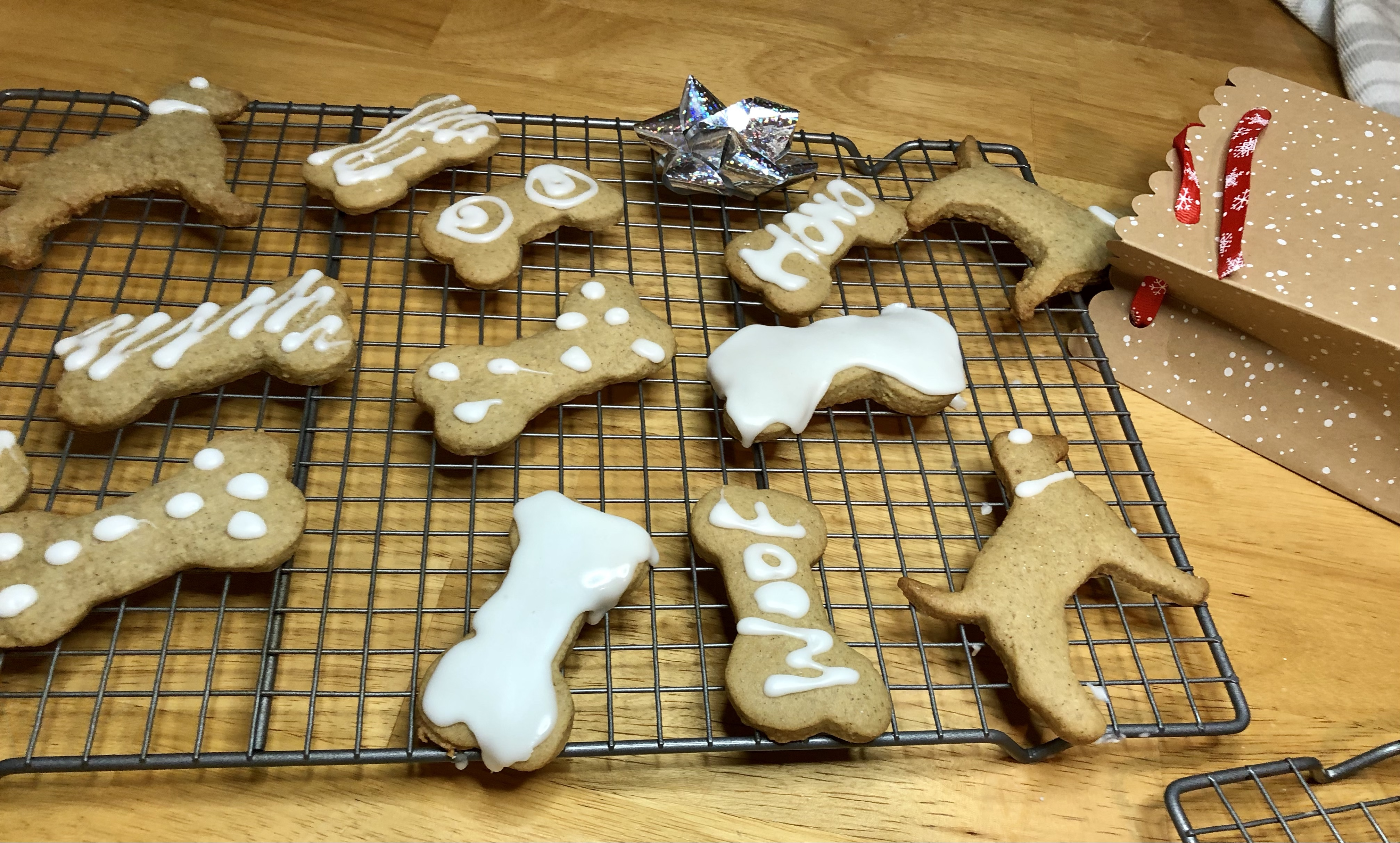 Gift Idea for the Pet Lover (Gingerbread Cookies)
