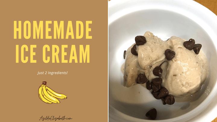 Homemade Ice Cream (Just 2 Ingredients)