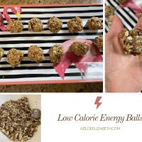 Low Calorie Energy Balls