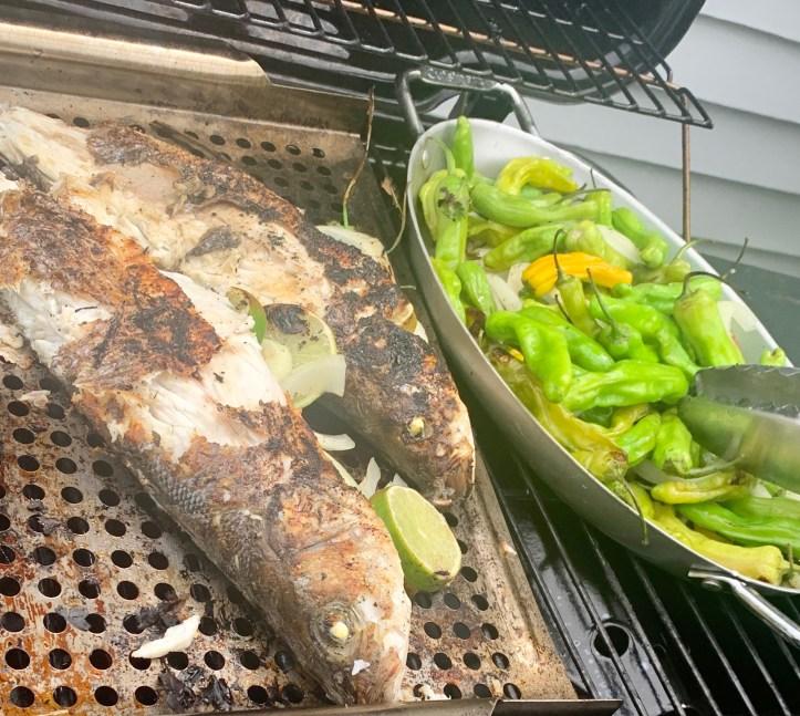 branzino fish grilled