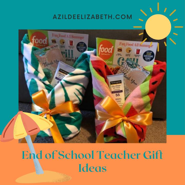 End of Year Class Teacher Gift Ideas