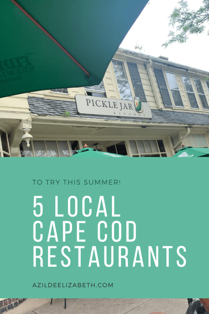 5 Local Cape Cod Restaurants To Try