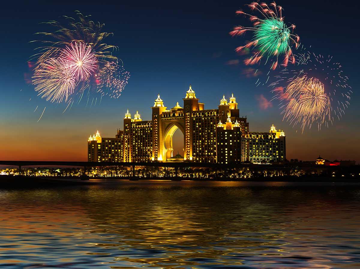 Dubai novo leto