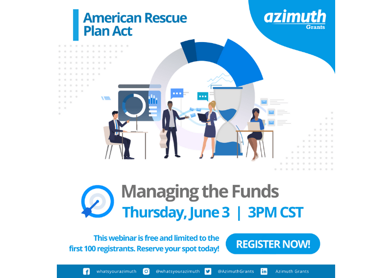 American Rescue Plan Act: Managing the Funds