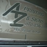 Waterjet Cutting Metal Signs Arkansas